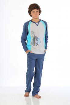 بدلة رياضة للاولاد - لون ازرق HMD YUPPİ