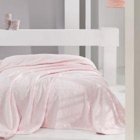 بطانية بوليستر ورديّة اللون حجم كبير 220×240سم ماري كلير جانيه MARIE CLAIRE JANNIE