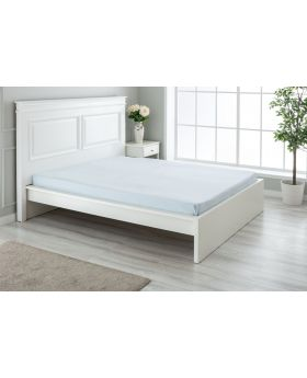 """مفرش سرير ذو محيط مطاطي مزدوج """" شخصين """" 160x200+30  سم لون أزرق"""