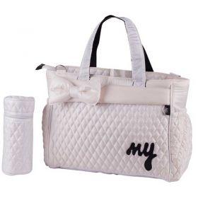 حقيبة العناية بالطفل باللون الأبيضMY Collection