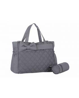 حقيبة  بيبي  للأم باللون الرماديMY Collection