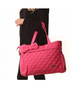 حقيبة  بيبي  للأم باللون الزهريMY Collection