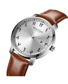 ساعة يد نسائية أصلية مرقمة بالأرقام العثمانية /العربية Hulyah London