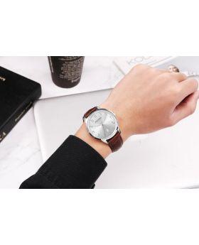 ساعة يد رجالية أصلية مرقمة بالأرقام العثمانية / العربية Hulyah London