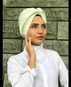 بونيه حجاب الرأس - لون الاكرو