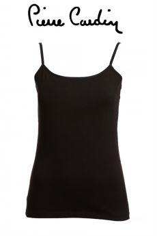 بلوزة نسائية داخلية - اللون الأسود  Pierre Cardin