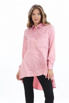 قميص لون وردي مزركش