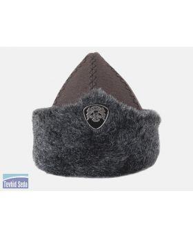 قبعة المحارب أرطغرل الجلدية