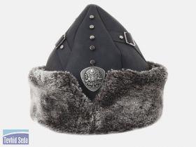 قبعة المحارب العثماني أرطغرل ذات الطراز العسكري التقليدي