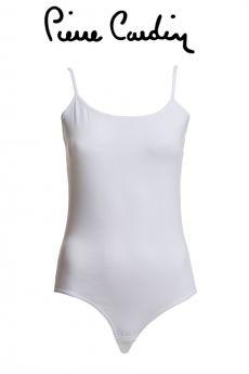 بلوزة داخلية نسائية اللون الأبيض Pierre Cardin