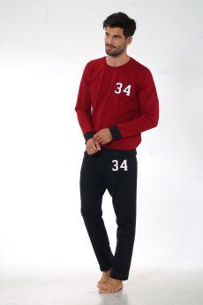 بدلة رياضة للرجال - لون خمري  HMD