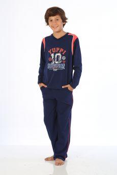 بدلة رياضة للاولاد - لون كحلي HMD YUPPİ