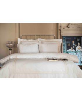 """طقم غطاء سرير ساتان لون وردي مزدوج """" شخصين """"  RITA"""