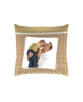 وسادة مطبوع عليها صورة أب وابنه  TAC Power