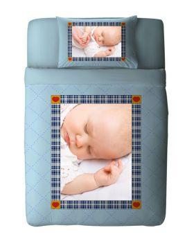 طقم غطاء سرير ذو طبعة بيبي MyHeart ماركة TAC
