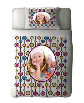 طقم غطاء سرير بطبعة أطفال Circle ماركة TAC