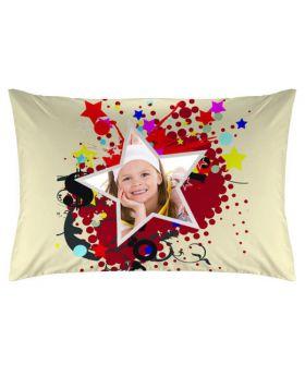 غطاء وسادة بطبعة أطفال Star ماركة TAC