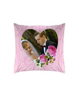 وسادة ذات طبعة عروسين بمناسبة ذكرى الزواج Romantic Rose ماركة TAC