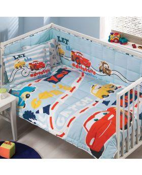 مجموعة النوم الخاصة بالبيبي بطبعة سيارات ديزني ماركة TAC