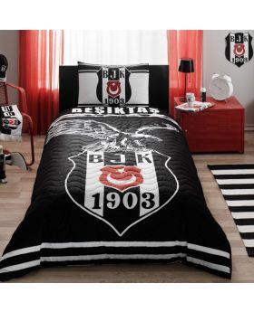طقم غطاء سرير ذو شعار فريق بيشكتاش ماركة TAC