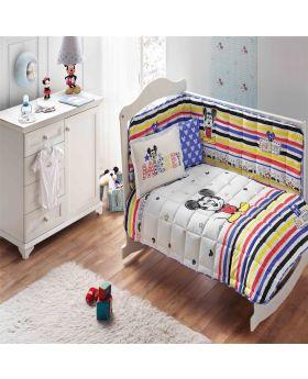 مجموعة النوم قياس مفرد بطبعة ميكي ماوس ديزني ماركة TAC