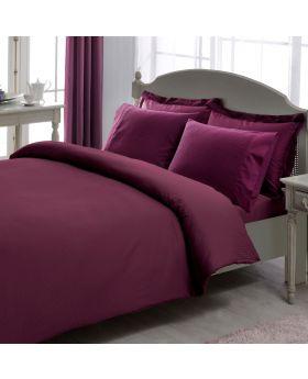 طقم بياضات سرير Premium-لون بنفسجي Tac
