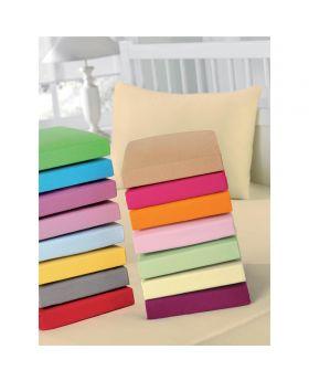 """شرشف سرير """" مفرش """" ذو محيط مطاطي لون وردي ماركة TAC"""