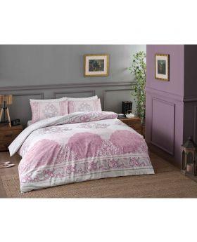 طقم بياضات سرير مفرد Aryan -لون وردي Tac