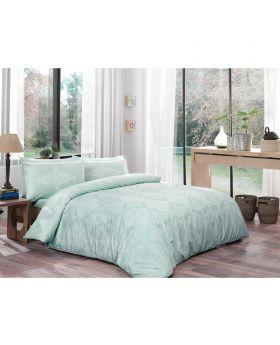 طقم بياضات سرير مزدوج Blanche-لون النعناع Tac