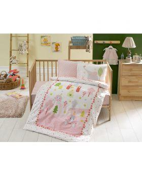 طقم بياضات Princess Bebek لأطفال حديثي الولادة Tac