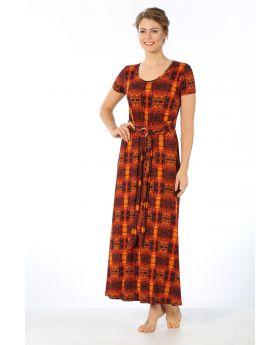فستان للنساء - ذو طباعة HMD