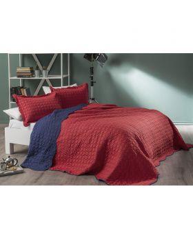 طقم غطاء سرير Hera -لون خمري Tac