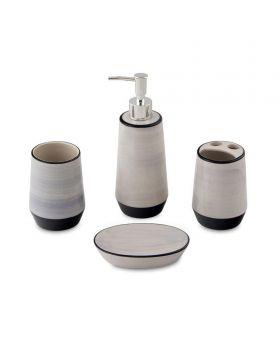 مجموعة ملحقات الحمام 4 قطع Agata ماركة TAC