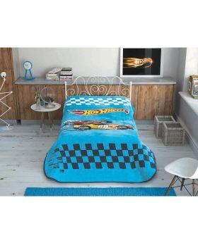 بطانية سرير بطبعة Hot Wheels ماركة TAC