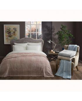 بطانية سرير قطنية قياس مزدوج TAC Romy