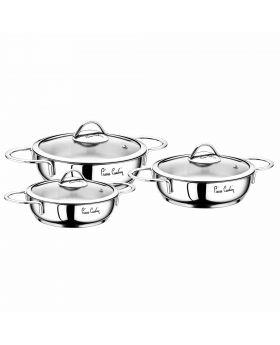 مجموعة طناجر طهي الطعام Pierre Cardin Planet 6 قطع