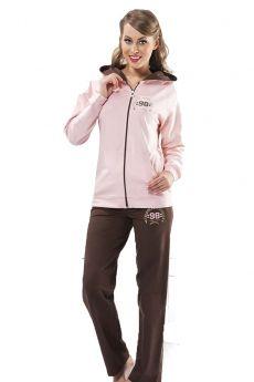 بدلة رياضة نسائية - لون زهري HMD