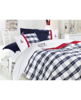 """طقم غطاء سرير مفرد """" شخص واحد """" NAUTICAL KING SIZE"""