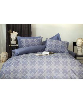 """طقم غطاء سرير مصنوع من الجاكار والخيوط المصبوغة  دبل """" قطعتين """" DIXON"""