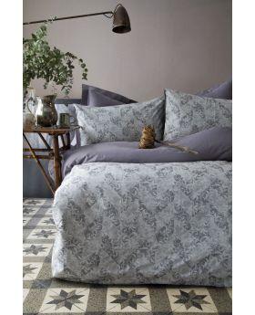 """طقم غطاء سرير مصنوع من الجاكار والخيوط المصبوغة دبل"""" قطعتين """" GRATZI"""