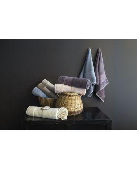 منشفة حمام مقاس 30×50 VERDA لون كريمي