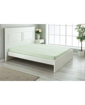 """مفرش سرير مزدوج """" شخصين """" ذو محيط مطاطي  160x200+30  سم لون أخضر"""