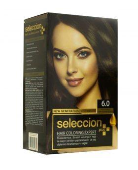 صبغة شعر نمرة 6 0 لون أشقر غامق Seleccion Plus