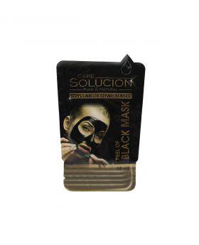 كيس قناع الوجه الاسود 15 مل Solucion