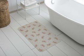 دواسة أرضية بانيو الحمام غير قابلة للانزلاق مصنوعة من خيط الشانيل 50x85 سم  لون اخضر