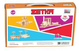 لعبة ذكاء 70 قطعة ZETKA  طبيعي ZET Zeka